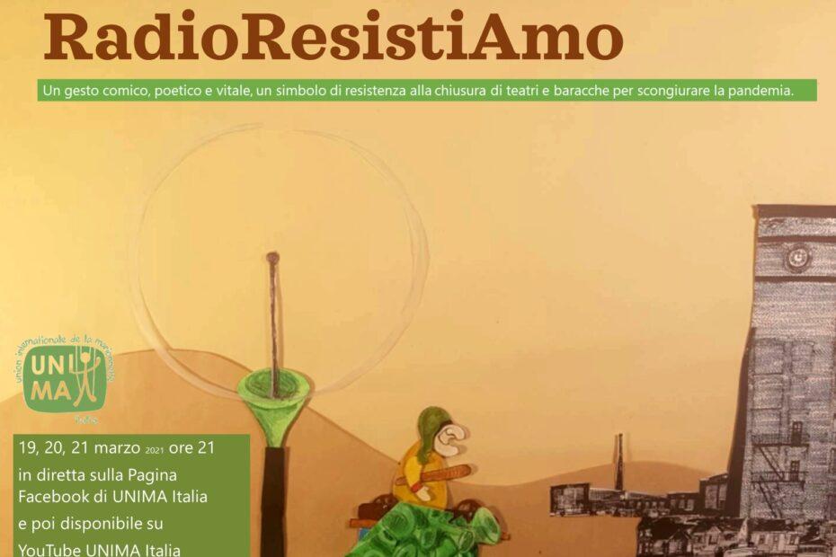 RadioResistAmo Unima Italia immagine
