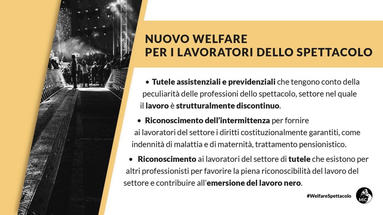 Welfare spettacolo